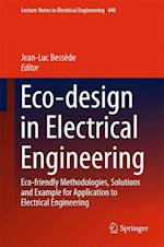 Eco-Design in Electrical Engineering (Lecture Notes in Electrical Engineering, nr. 440)