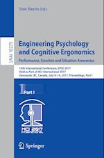 Engineering Psychology and Cognitive Ergonomics: Performance, Emotion and Situation Awareness : 14th International Conference, EPCE 2017, Held as Part