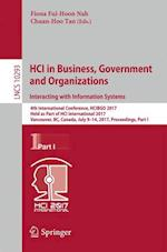 HCI in Business, Government and Organizations. Interacting with Information Systems : 4th International Conference, HCIBGO 2017, Held as Part of HCI I