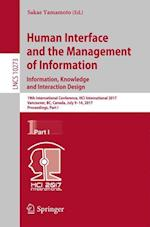 Human Interface and the Management of Information: Information, Knowledge and Interaction Design : 19th International Conference, HCI International 20