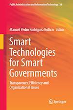 Smart Technologies for Smart Governments af Manuel Pedro Rodriguez-Bolivar