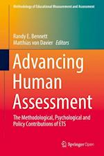 Advancing Human Assessment (Methodology of Educational Measurement and Assessment)
