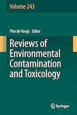 Reviews of Environmental Contamination and Toxicology Volume 243