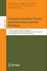 Enterprise, Business-Process and Information Systems Modeling : 18th International Conference, BPMDS 2017, 22nd International Conference, EMMSAD 2017,