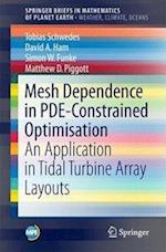 Mesh Dependence in PDE-Constrained Optimisation : An Application in Tidal Turbine Array Layouts
