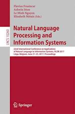 Natural Language Processing and Information Systems : 22nd International Conference on Applications of Natural Language to Information Systems, NLDB 2