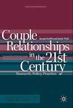 Couple Relationships in the 21st Century (Palgrave Macmillan Studies in Family and Intimate Life)