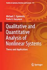 Qualitative and Quantitative Analysis of Nonlinear Systems : Theory and Applications