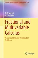 Fractional and Multivariable Calculus (Springer Optimization And Its Applications, nr. 122)