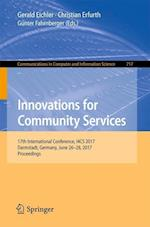 Innovations for Community Services : 17th International Conference, I4CS 2017, Darmstadt, Germany, June 26-28, 2017, Proceedings
