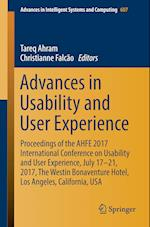 Advances in Usability and User Experience : Proceedings of the AHFE 2017 International Conference on Usability and User Experience, July 17-21, 2017,