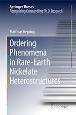 Ordering Phenomena in Rare-Earth Nickelate Heterostructures