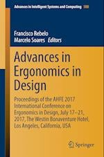 Advances in Ergonomics in Design (Advances in Intelligent Systems and Computing, nr. 588)