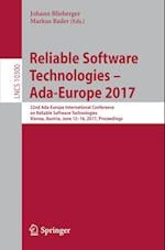 Reliable Software Technologies - Ada-Europe 2017 : 22nd Ada-Europe International Conference on Reliable Software Technologies, Vienna, Austria, June 1