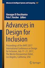 Advances in Design for Inclusion : Proceedings of the AHFE 2017 Conference on Design for Inclusion, July 17-21, 2017, Los Angeles, California, USA