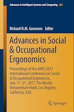 Advances in Social & Occupational Ergonomics : Proceedings of the AHFE 2017 International Conference on Social & Occupational Ergonomics, July 17-21,