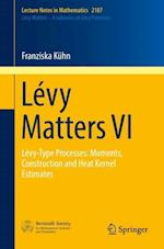 Levy Matters VI (Lecture Notes in Mathematics, nr. 2187)