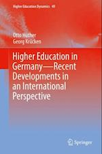 Higher Education in Germany-Recent Developments in an International Perspective