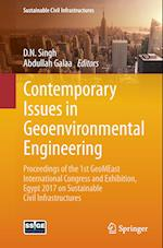 Contemporary Issues in Geoenvironmental Engineering : Proceedings of the 1st GeoMEast International Congress and Exhibition, Egypt 2017 on Sustainable