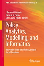 Policy Analytics, Modelling, and Informatics (Public Administration and Information Technology, nr. 24)