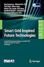 Smart Grid Inspired Future Technologies : Second EAI International Conference, SmartGIFT 2017, London, UK, March 27-28, 2017, Proceedings