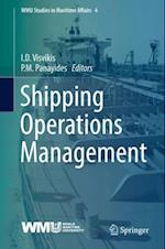 Shipping Operations Management (Wmu Studies in Maritime Affairs)