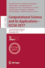 Computational Science and Its Applications - ICCSA 2017 : 17th International Conference, Trieste, Italy, July 3-6, 2017, Proceedings, Part I