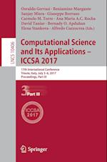 Computational Science and Its Applications - ICCSA 2017 : 17th International Conference, Trieste, Italy, July 3-6, 2017, Proceedings, Part III
