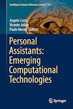 Personal Assistants: Emerging Computational Technologies (Intelligent Systems Reference Library, nr. 132)