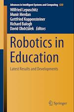 Robotics in Education (Advances in Intelligent Systems and Computing, nr. 630)
