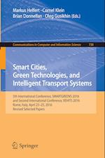 Smart Cities, Green Technologies, and Intelligent Transport Systems : 5th International Conference, SMARTGREENS 2016, and Second International Confere