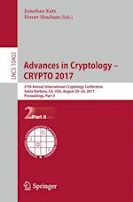 Advances in Cryptology - CRYPTO 2017 : 37th Annual International Cryptology Conference, Santa Barbara, CA, USA, August 20-24, 2017, Proceedings, Part