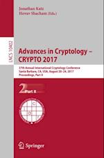 Advances in Cryptology - CRYPTO 2017 (Lecture Notes in Computer Science)