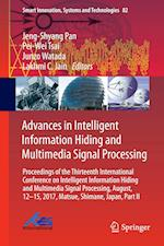 Advances in Intelligent Information Hiding and Multimedia Signal Processing (Smart Innovation, Systems and Technologies, nr. 82)