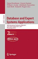 Database and Expert Systems Applications : 28th International Conference, DEXA 2017, Lyon, France, August 28-31, 2017, Proceedings, Part II