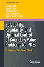 Solvability, Regularity, and Optimal Control of Boundary Value Problems for Pdes (Springer Indam, nr. 22)
