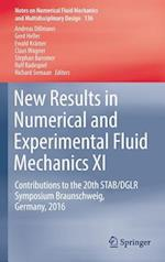 New Results in Numerical and Experimental Fluid Mechanics XI (Notes on Numerical Fluid Mechanics and Multidisciplinary Design, nr. 136)