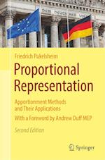 Proportional Representation : Apportionment Methods and Their Applications