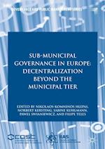 Sub-Municipal Governance in Europe (Governance and Public Management)