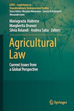 Agricultural Law (LITES Legal Issues in Transdisciplinary Environmental Studies)