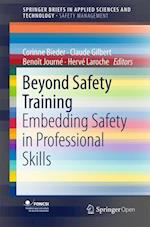Beyond Safety Training (Springerbriefs in Applied Sciences and Technology)