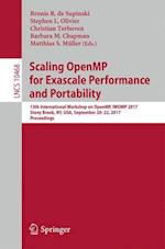 Scaling OpenMP for Exascale Performance and Portability : 13th International Workshop on OpenMP, IWOMP 2017, Stony Brook, NY, USA, September 20-22, 20