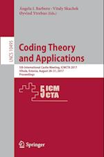 Coding Theory and Applications : 5th International Castle Meeting, ICMCTA 2017, Vihula, Estonia, August 28-31, 2017, Proceedings