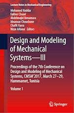 Design and Modeling of Mechanical Systems-III (Lecture Notes in Mechanical Engineering)