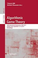 Algorithmic Game Theory : 10th International Symposium, SAGT 2017, L'Aquila, Italy, September 12-14, 2017, Proceedings