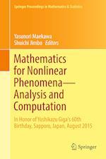 Mathematics for Nonlinear Phenomena - Analysis and Computation : In Honor of Yoshikazu Giga's 60th Birthday, Sapporo, Japan, August 2015