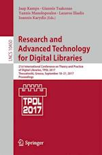 Research and Advanced Technology for Digital Libraries : 21st International Conference on Theory and Practice of Digital Libraries, TPDL 2017, Thessal