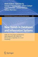New Trends in Databases and Information Systems (Communications in Computer and Information Science, nr. 767)