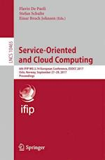 Service-Oriented and Cloud Computing (Lecture Notes in Computer Science, nr. 10465)
