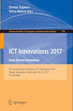 ICT Innovations 2017 (Communications in Computer and Information Science, nr. 778)